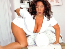 Nurse Larger than typical Tits