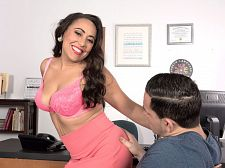 Gabriella Sky's awesome blowjob skills